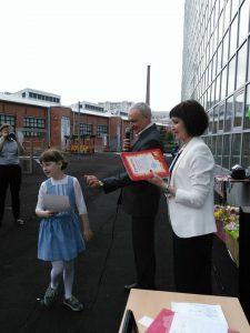 Светлана Николаевна и Евгений Николаевич поздравляют самых успешных учеников